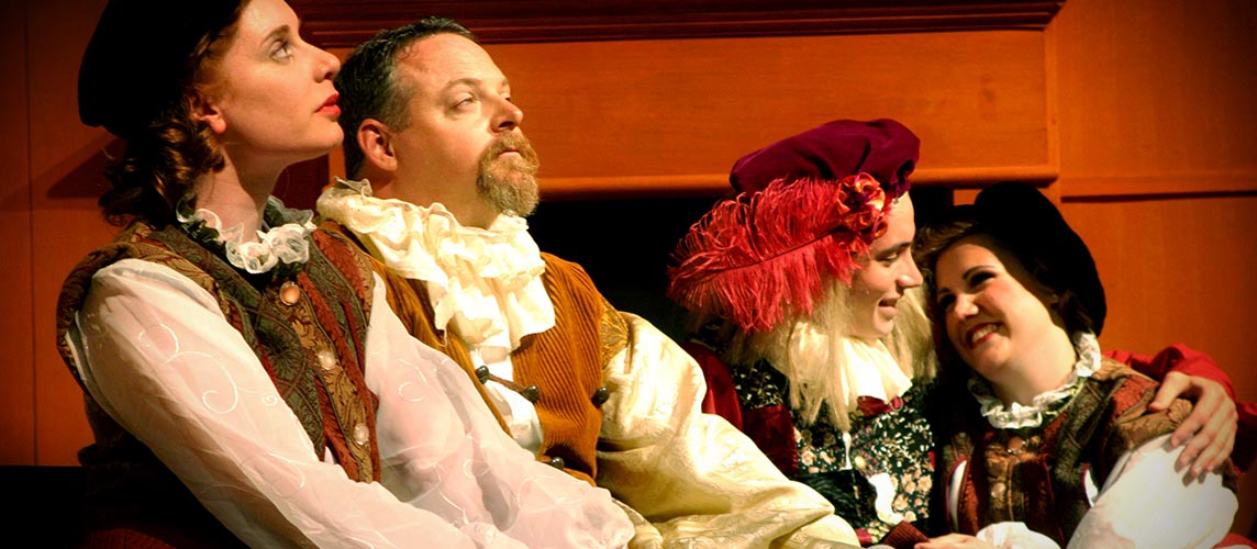 Join the B2B Theatre and experience Shakespeare to Broadway fun